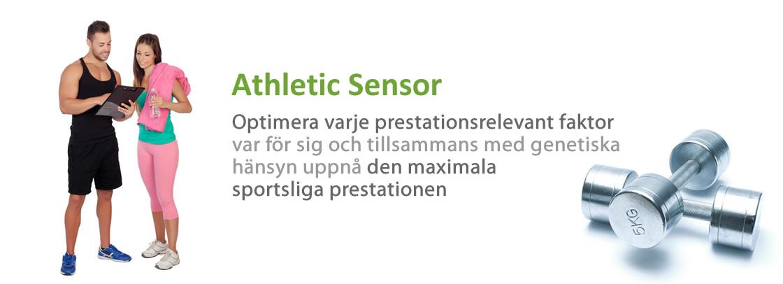 DNA Test Athletic Sensor